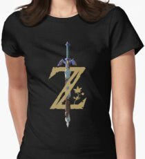 Camiseta entallada The Legend of Zelda: Breath of the Wild Z