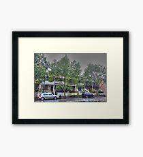 Sydney suburbia Framed Print