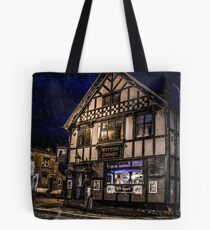 Northwich at night 14 Tote Bag