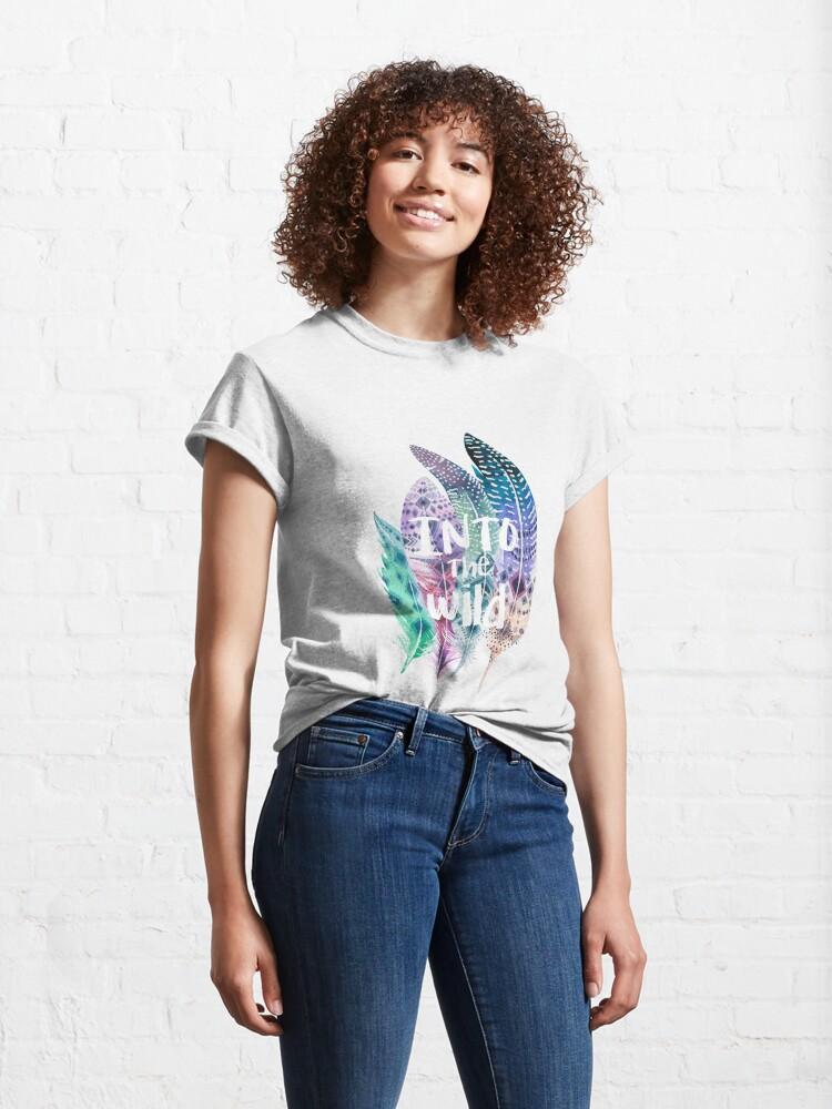 Vista alternativa de Camiseta clásica Into the wild