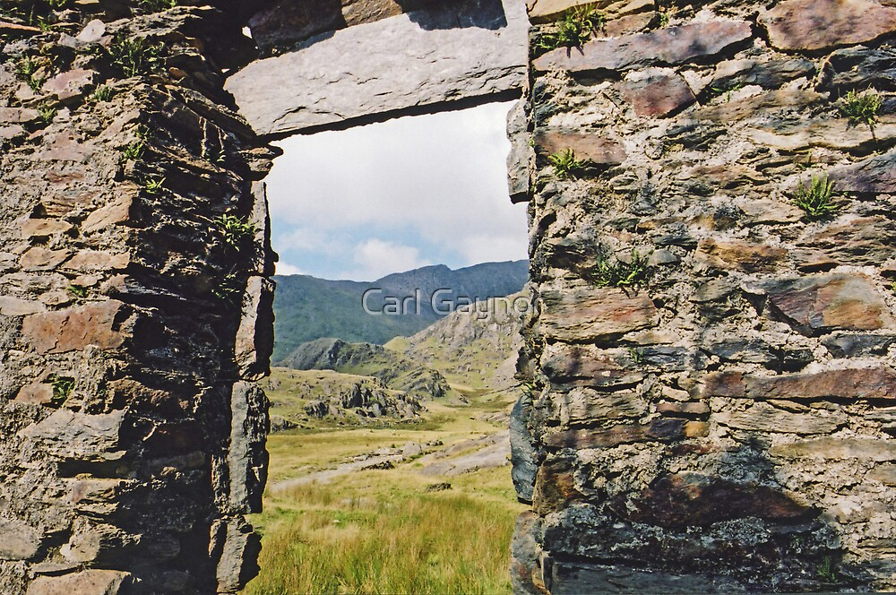 Watkins Path - Snowdonia - Wales  by Carl Gaynor