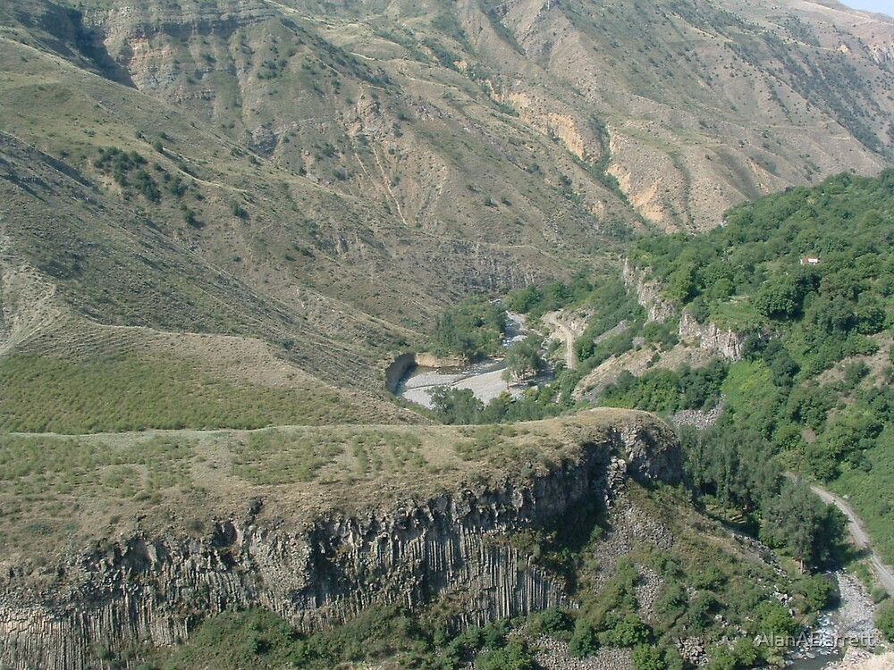 Gorge at Geghard Temple ARMENIA by AlanABarrett