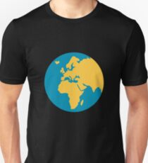 Emoji Earth Globe Europe-Africa T-Shirt