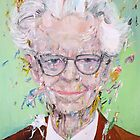 B.F. Skinner - oil portrait by lautir