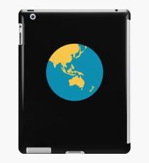 Emoji Earth Globe Asia - Australia iPad Case/Skin