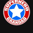 Superheld Opa von JCDesignsUK