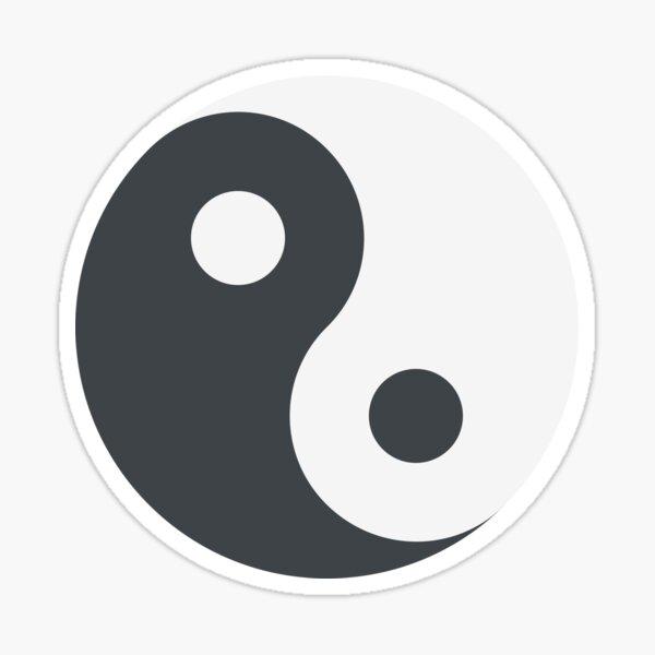 Zeichen yin emoji yang Popular Symbols