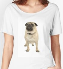 Adorable pug Women's Relaxed Fit T-Shirt