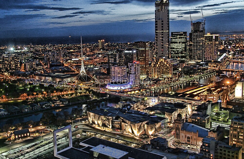 Melbourne Series - Overlooking Southbank by sparrowhawk