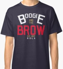 Boogie And The Brow (Arch White/Gold/Red) Classic T-Shirt