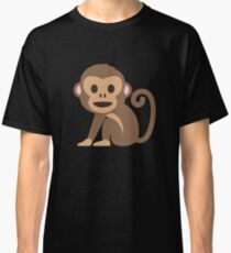Emoji Happy Monkey Classic T-Shirt
