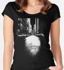 New York Street Women's Fitted Scoop T-Shirt