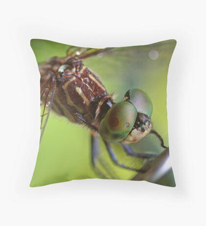 wet dragon Throw Pillow