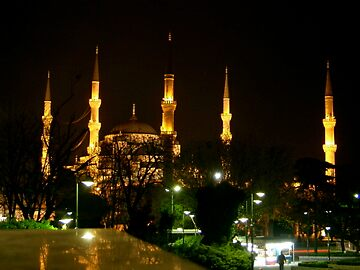 The Blue Mosque by aussiecookie