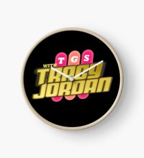 TGS with Tracy Jordan : Inspired By 30 Rock Clock
