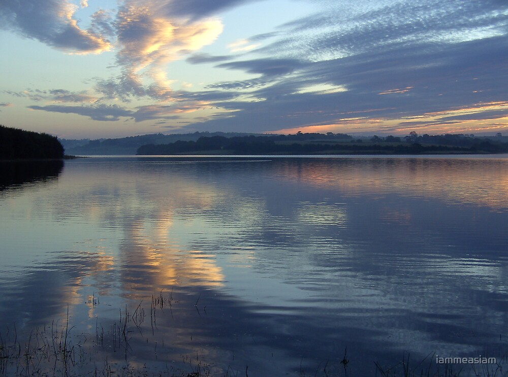 Blue Sunrise by iammeasiam