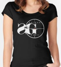 sniper gang Women's Fitted Scoop T-Shirt