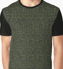 Binary Matrix Graphic T-Shirt