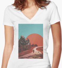 The Walk Women's Fitted V-Neck T-Shirt