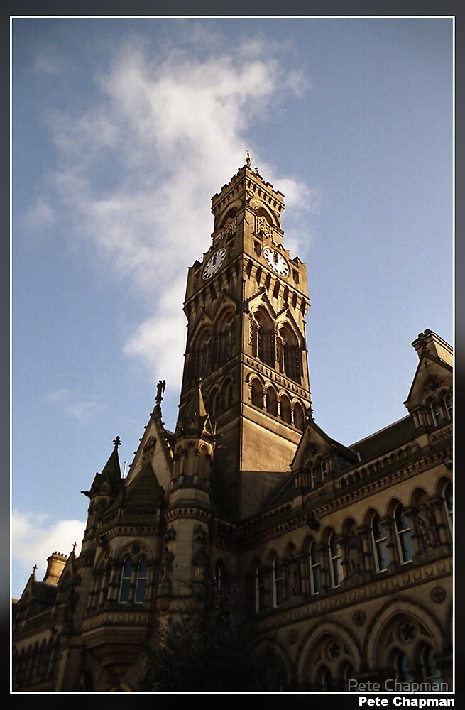 Bradford Town Hall by Pete Chapman