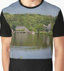 Moulin Neuf, Rochefort-en-Terre, France Graphic T-Shirt