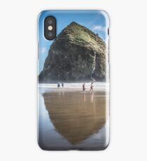 Travel Nature Landscape Tapestry Cannon Beach Goonies Oregon Haystack Rock iPhone Case/Skin