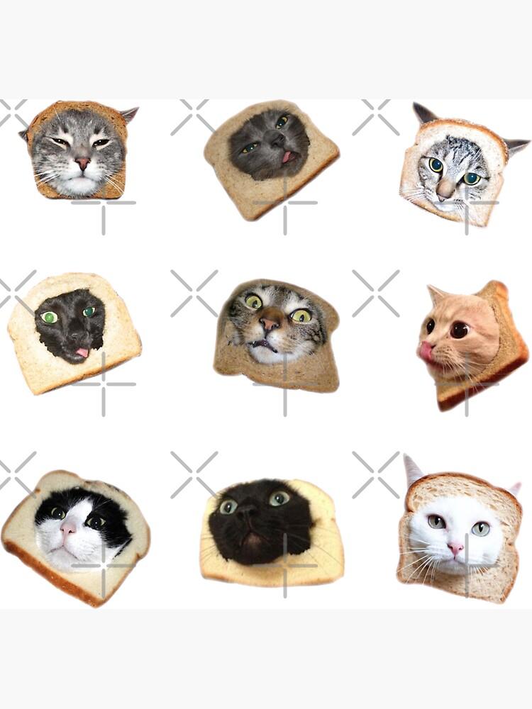 Bread Kitties by Elisecv