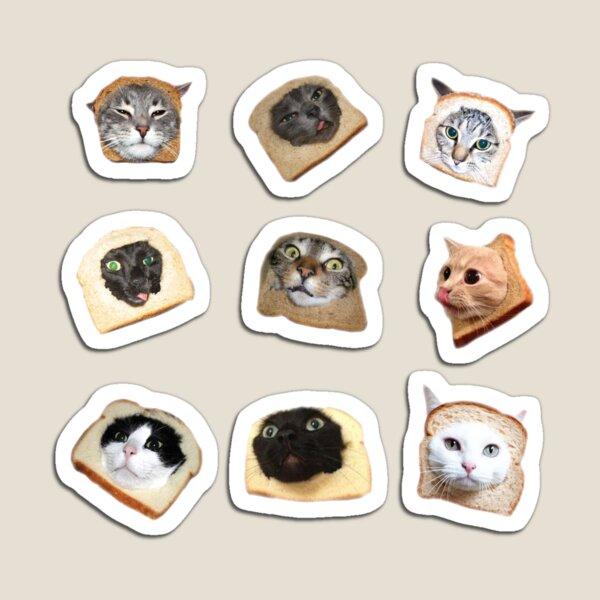 Bread Kitties Magnet