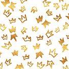 Golden Crown Pattern by valerielongo