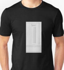 Glitch Homes Wallpaper whitepillar molding wall right T-Shirt