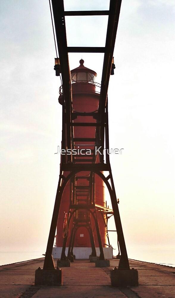 Pier Lighthouse by Jessica Kruer