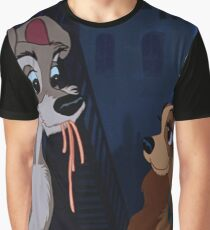 Lady and the tramp Graphic T-Shirt