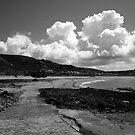 B&W L'Etacq beach by Alan Lagadu