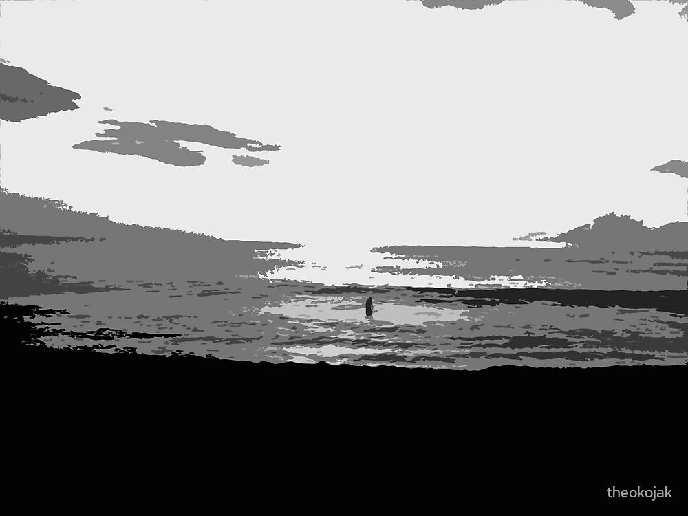 Dark Beach by theokojak