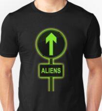 Aliens concept. Unisex T-Shirt