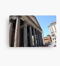 Pantheon in Rome Canvas Print