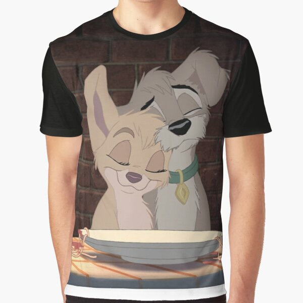Angel and Scamp Graphic T-Shirt
