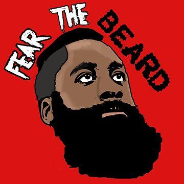 James Harden: Fear the beard  by diffy2009