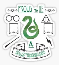 Proud to be a Slytherin Sticker