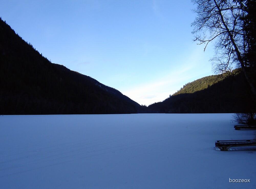 Icy Dawn by boozeox