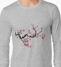 Kodama on a cherry tree Long Sleeve T-Shirt