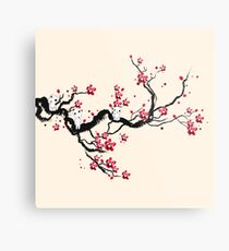 Kodama on a cherry tree Metal Print