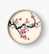 Kodama on a cherry tree Clock