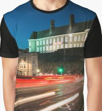 Carmarthen Town, South Wales. Graphic T-Shirt