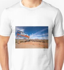Welcome to Utah sign on the roadside Unisex T-Shirt