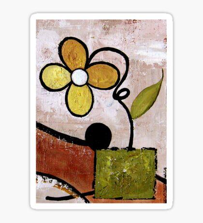 Frisky Floral Sticker