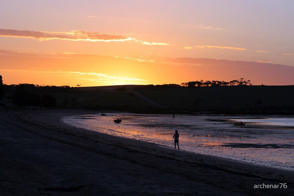 Streaky Bay Sunset by archenar76