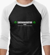 Shenanigator Definition T-Shirt - St. Patricks day  Men's Baseball ¾ T-Shirt