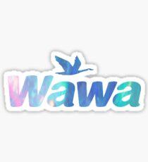 Opal Wawa-Style Sticker Sticker