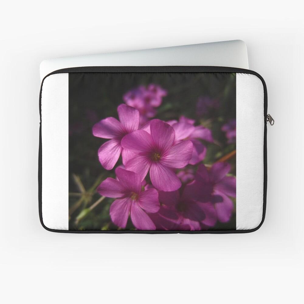Pink-Sorrel Laptop Sleeve